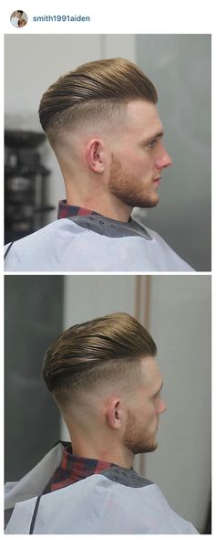 Undercut with a fade