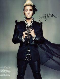 Big Bang G-Dragon - Vogue Magazine December Issue '09