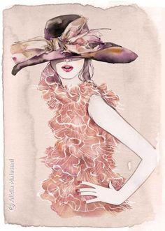 shu84: Alicia Malesani Fashion Illustrations