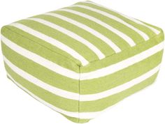 Frontier Pouf This rectangular pouf combines a striped pattern with bright colors to bring a sophisticated, yet fun look to any room. Made in India with one hundred percent wool, this pouf is durable and priced right. http://www.urbanloftonline.com/pouf163-242413-frontier-pouf.html