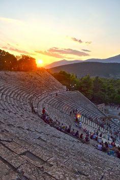 Epidavros Theatre, Greece