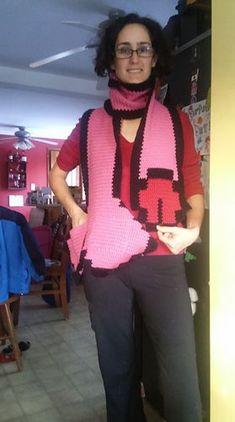 Crochet Scarves, Knit Crochet, Crochet Things, Crochet Dolls, Diy Crafts Crochet, Crochet Ideas, Crochet Humor, Funny Crochet, Crotchet Patterns