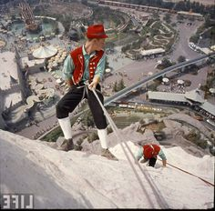 LIFE photographer Ralph Crane was there when the Matterhorn opened in 1959. Fantasyland attractions can be seen beyond.