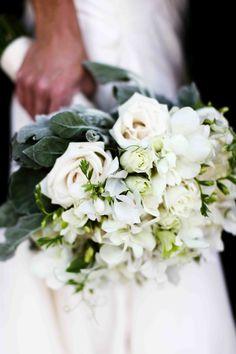 Kaela's beautiful white bridal bouquet by Floral Logic - Rocket Science Weddings & Events - Photo by Vick Photography - blog - Kaela &Korey