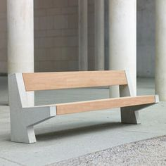 These 12 Outdoor Products Won 2015 Red Dot Design Awards Cheap Patio Furniture, Urban Furniture, Street Furniture, Home Furniture, Furniture Design, Concrete Bench, Concrete Furniture, Beton Design, Concrete Design