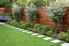28 Awesome Backyard Garden Design Ideas And Remodel. If you are looking for Backyard Garden Design Ideas And Remodel, You come to the right place. Below are the Backyard Garden Design Ideas And Remod. Backyard Patio Designs, Small Backyard Landscaping, Backyard Fences, Landscaping Design, Landscaping Along Fence, Modern Landscaping, Inexpensive Landscaping, Backyard Plants, Small Backyard Design