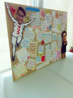 Farewell card by Alli Wang #farewell #diy #scrapbook