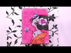 Como Hacer Cuadros para Niñas- HogarTv por Juan Gonzalo Angel - YouTube
