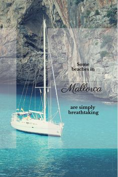 Find out which are the best beaches in Mallorca and how to reach them. Mallorca has some amazing top beaches: secluded beaches, crystal clear water and azure shades. Europe Travel Tips, Spain Travel, European Travel, Travel Guides, Mallorca Beaches, Best Beaches In Majorca, Cool Places To Visit, Places To Go, Madrid