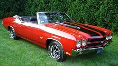 1970 Chevrolet Chevelle convertible SS / Super Sport 454 cid V8 450 horsepower (LS6 option)