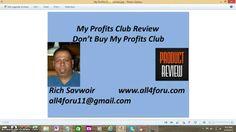 My Profits Club Review,Don't Buy My Profits Club