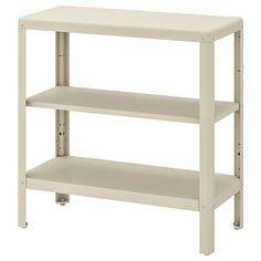 IKEA - KOLBJÖRN, Shelving unit in/outdoor, beige, Suitable for both indoor and outdoor use. The shelving unit is durable, easy to clean and protected from rust since it is made of powder-coated galvanised steel. Suitable for both indoor and outdoor use. Beige, Bathroom Shelving Unit, Ikea Regal, Pine Plywood, Interior Exterior, Storage Shelves, Small Shelves, Storage Solutions, Storage Systems