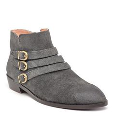 Another great find on #zulily! Gray Passion Suede Boot #zulilyfinds