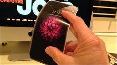 「曲がるiPhone」を実現する技術の特許をAppleが取得 - GIGAZINE