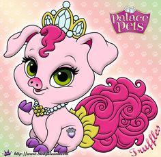 Truffles Princess Palace Pet Coloring Page SKGaleana image