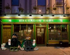 The Mandarin invited me to the tavern, but we were asked to leave. No idea why. I only threatened two people.