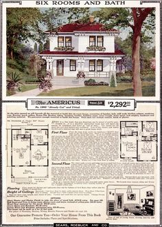 1923 The Americus houseplan.