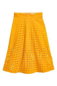Falda con textura