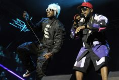 OutKast's André 3000 and Big Boi shake up the 2014 Austin City Limits Music Festival on Oct. 3 in Austin, Texas