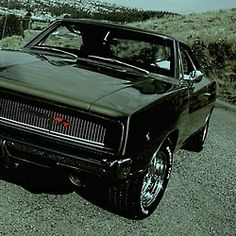 1968 #Dodge #Charger #RT #RetroKulture #musclecar #LetsGetWordy