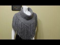 Capa Ludyn tejida con dedos fácil y rápido - tejiendo con Laura Cepeda - YouTube