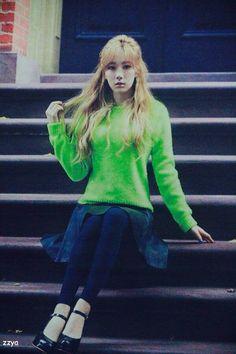 #Taeyeon #SNSD #TTS #photoshoot #Highcut