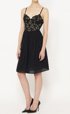 Catherine Malandrino Black Dress