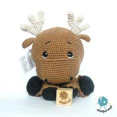 www.alegorma.com/sklep #alegorma #amigurumi #szydełkowce #crochet #moose