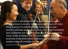 Education teaches Compassion
