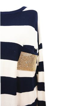 Stripes with some bling!