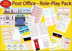 Post Office Role-Play Resources