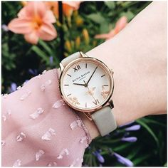 """Could this """"bee"""" the most adorable trio you ever did see? @oliviaburtonwatches"""