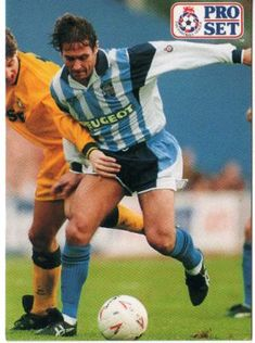 Kenny Sansom of Coventry City in 1991.