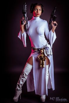 Character: Princess Leia. From: Wow!!. Star Wars Episodes IV-V-VI Cosplayer: Ivette Maldonado 'akas' Ivy,Ivy95. From: Puerto Rico. Residence: Florida, US. Photo: MC Illusion 2014