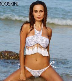 0b5eec6b67320 Hot Swimwear Bandage Bikini 2016 Sexy Beach Swimwear Women Swimsuit Bathing  Suit Brazilian Bikini Set Biquini maillot de bain   This is an AliExpress  ...