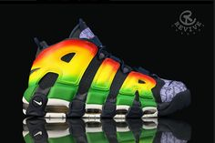 Nike Air More Uptempo 'motown' by Revive
