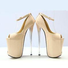 sapatas das mulheres sexy pio calcanhar toe stiletto bombas partido sapatos mais cores disponíveis - BRL R$ 290,67
