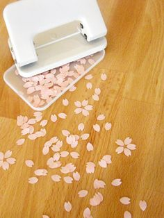 Sakura / cherry blossom hole punch  Stationery, stationary, office