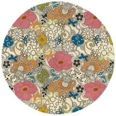 Artistic Weavers Tim White 5 ft. 9 in. Round Area Rug-TI-85 at The Home Depot