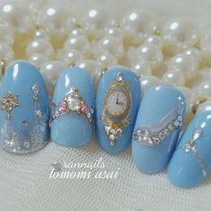 Ilnp Peri Me Cinderella Nail Art Nails Pinterest