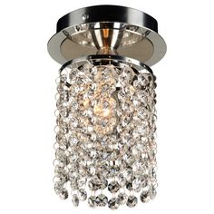 $90 - PLC Lighting Rigga 1 Light Semi-Flush Mount