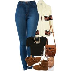 A fashion look from August 2013 featuring River Island, crop top and high waisted jeans. Browse and shop related looks.