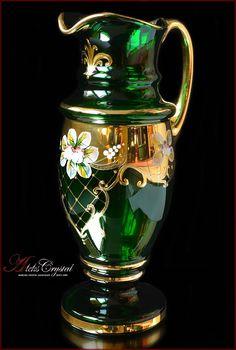 Bohemia Crystal, Crystal Decanter, Glass Artwork, Tea Sets, Carafe, Clock, Vase, Weddings, Crystals