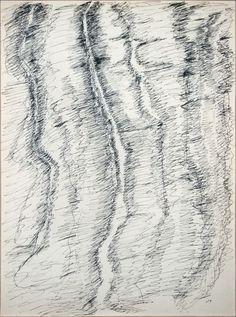 Ink on paper. Augustin Lesage, Henri Michaux, Automatic Drawing, Marlene Dumas, Tachisme, Psychedelic Drugs, Hilma Af Klint, Anselm Kiefer, Piet Mondrian
