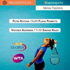 Prognósticos para as partidas de #WTA do #USOpen de hoje:   http://www.apostaganha.pt/2015/09/08/prognostico-apostas-petra-kvitova-vs-flavia-pennetta-us-open/  http://www.apostaganha.pt/2015/09/09/prognostico-apostas-petra-kvitova-vs-flavia-pennetta-us-open-2/  http://www.apostaganha.pt/2015/09/08/prognostico-apostas-viktoria-azarenka-vs-simona-halep-us-open/  http://www.apostaganha.pt/2015/09/09/prognostico-apostas-viktoria-azarenka-vs-simona-halep-us-open-2/  http://www.apostaganha.p