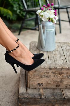 Vanessa Balli: Shoes by J. Serene
