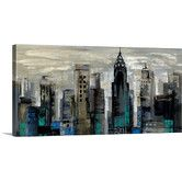 Found it at Wayfair - New York Moment by Silvia Vassileva Gallery Painting Print on Wrapped Canvas