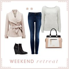 Weekend retreat- forever new! Winter Looks, Fall Winter, Autumn, Forever New, Knit Jacket, Fashion Over 50, New Wardrobe, Fashion Outfits, Womens Fashion