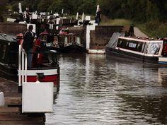 Hatton Flight Locks - Grand Union Canal, England