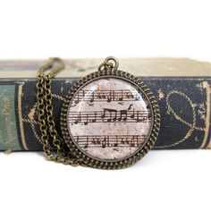 Music Necklace Sheet Music